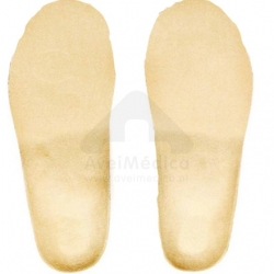 Palmilhas ortopédicas com compensação