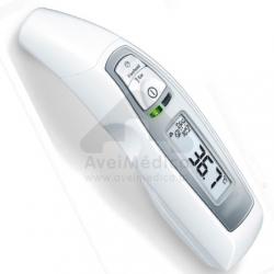 Termómetro digital de testa, ouvido e temperatura ambiente