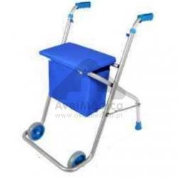 Andarilho com assento e bolsa