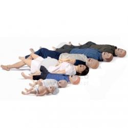 Linha completa de simuladores de pacientes
