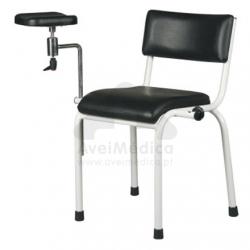 Cadeira de Recolha de Sangue inox
