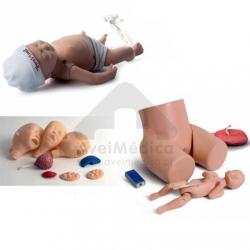 Simulador Neonatal, de partos e kit anomalias congénitas