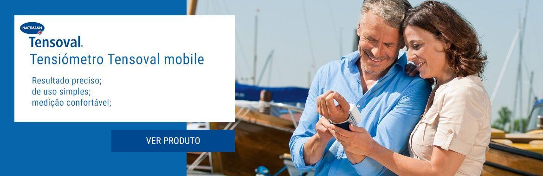Tensoval® mobil é um prático tensiómetro para medição no pulso com confortável insuflação; para pessoas ativas.